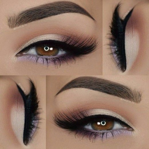 Макияж для карих глаз: 8 подборок обворожительного макияжа