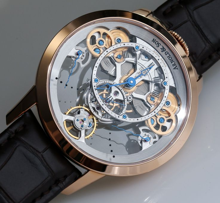 Arnold and Son Time Pyramid Watch - A Blog To Watch