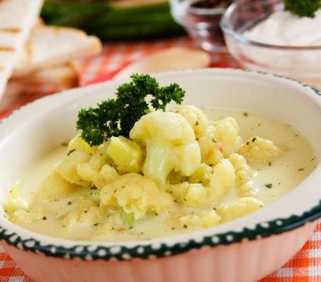 Zupa kalafiorowa - Przepisy. Zupa kalafiorowa to przepis, którego autorem jest: Magda Gessler