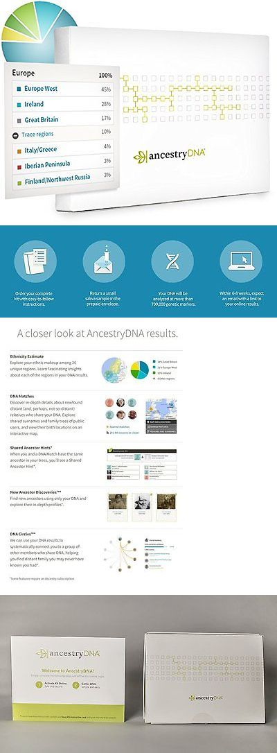 Other Medical Monitoring: Ancestry Dna: Genetic Testing - Dna Test BUY IT NOW ONLY: $123.75
