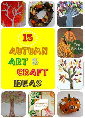 15 autumn art and craft ideas for kids #LearnActivities