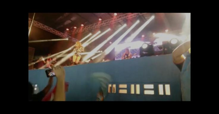 Sem Chimbinha, Joelma faz show da banda Calypso no Maranhão