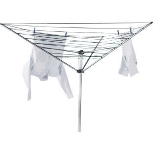 Buy Argos Value Range 30m 3-Arm Outdoor Rotary Clothes Airer at Argos.co.uk - Your Online Shop for Washing lines and airers.