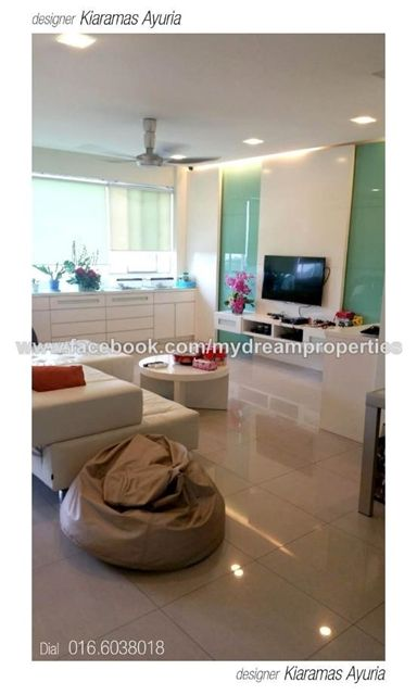 Condominium for Sale in Kiaramas Ayuria, Mont Kiara, Kuala Lumpur for RM 1,550,000 by Andy Gan. 2,002 sq. ft., 3+1-bed, 4-bathroom.