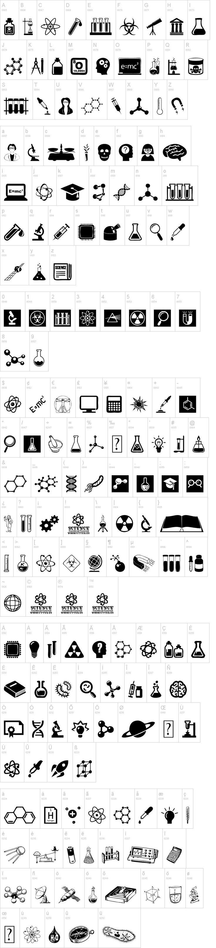 Science Icons                                                                                                                                                                                 Más