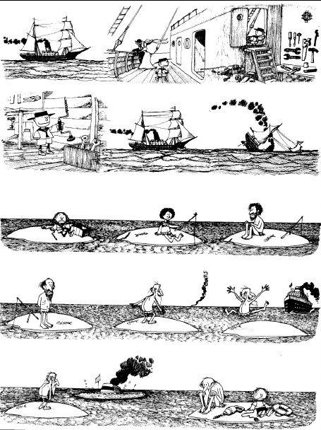 El cómic en el aula de ELE: Las historietas mudas de Quino y Herluf : ProfeDeELE.es