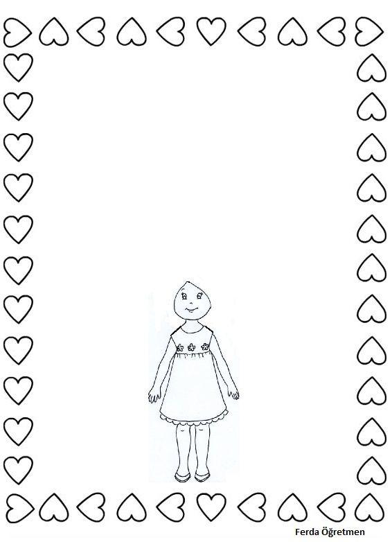 Kıvır Kıvır Saçlı çocuk Boyama çizim Ve Düzenlemelerim Character