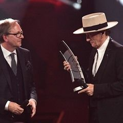 Marius Mueller-Westernhagen honoured at Echo music awards