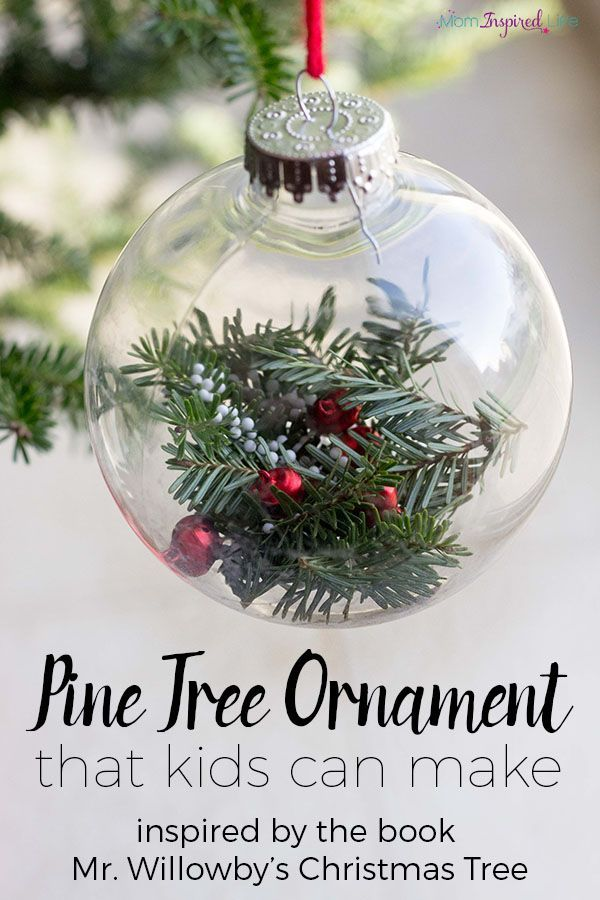 Pine Tree Ornament Inspired by Mr Willowbyu0027s