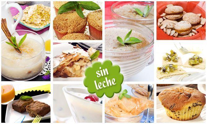 10 postres sin leche .-   http://www.hogarmania.com/cocina/recetas/postres/201403/postres-leche-24005.html