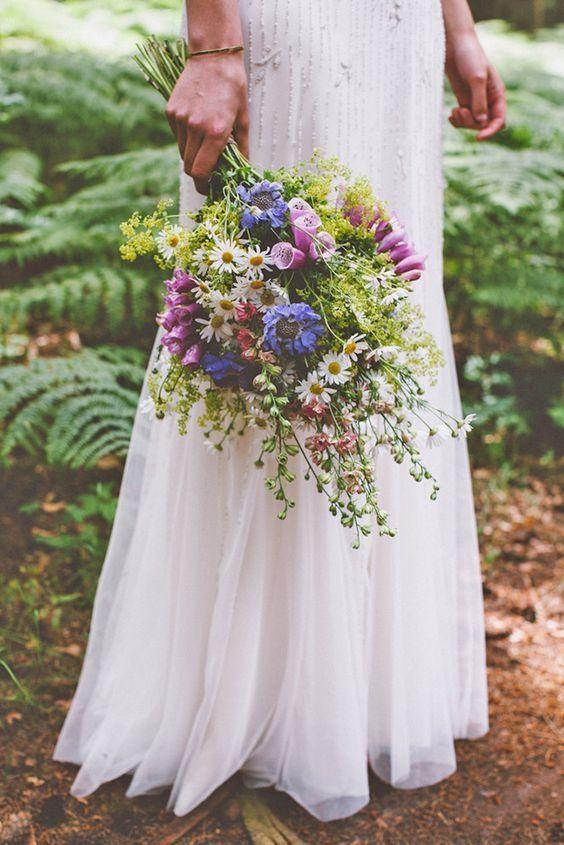 Trend wiązanek ślubnych w stylu boho
