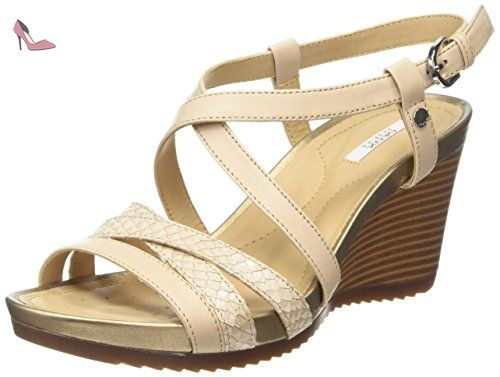 Arethea B, Mocassins (Loafers) Femme, Noir (Black), 38 EUGeox
