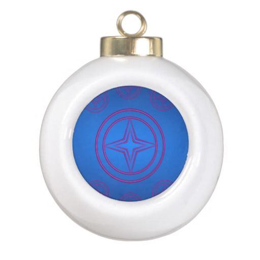 Seven Stars Ceramic Ball Ornament