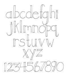 Creative Lettering Styles Alphabet Hand