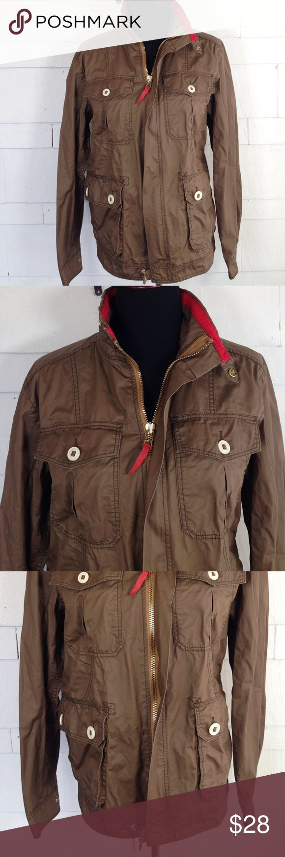 CPO PROVISIONS women's jacket. Small Cute waxed J.Crew style jacket. Perfect for fall. Good condition except tiny cut on back right shoulder which is the size of a centimeter. From urban outfitters Urban Outfitters Jackets & Coats