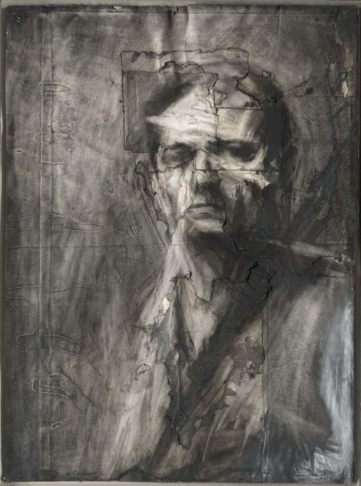 Self-Portrait, 1958, Frank Auerbach, German, born 1931 - Los seis grandes de la Escuela de Londres - 20minutos.es