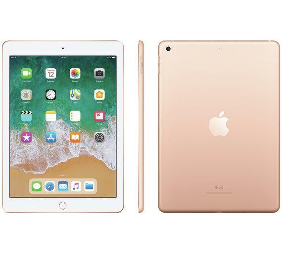 Buy Ipad 2018 6th Gen 9 7 Inch Wi Fi 32gb Gold Ipad Argos Not Rose Gold But Only 260 Ipad Wifi Ipad 32gb Ipad 6