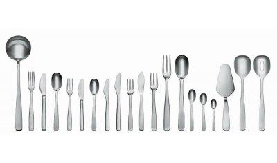 JM22 - KnifeForkSpoon, cutlery/flatware set - Alessi cutlery/flatware set / Jasper Morrison