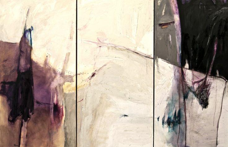 Infinito ( trittico) 2012 - olio su tela - cm 180 x 120