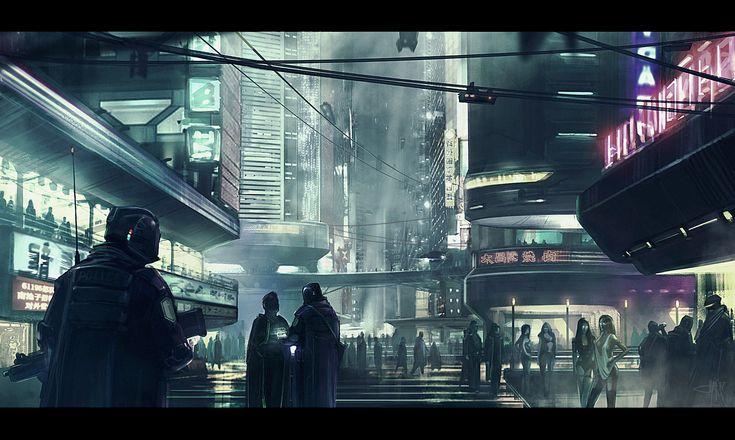 ArtStation - City patrol, Artyom Liner