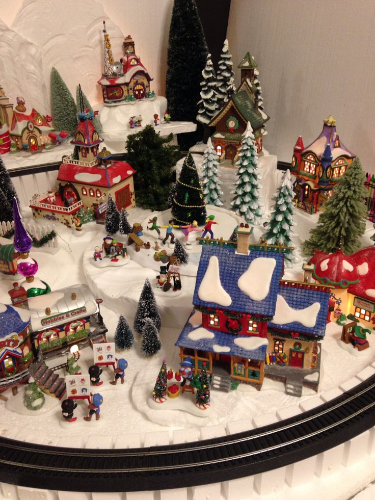 Best images about christmas village on pinterest