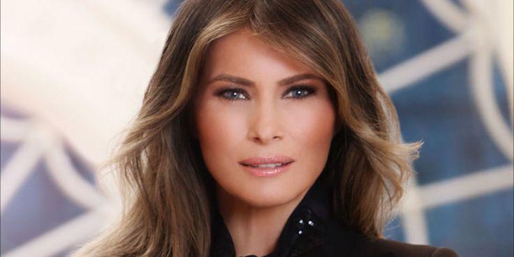 Melania Trump, la Casa Bianca diffonde il primo ritratto ufficiale della First lady