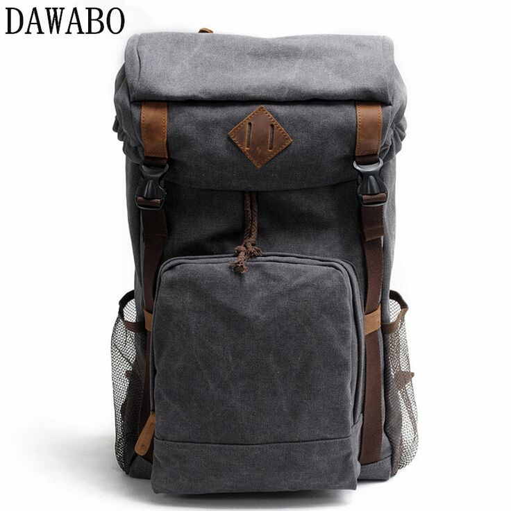 Travel Bags Fashion Canvas Men Backpacks Men's Multi-purpose Travel Backpack Multifunction Shoulder Bag Men Duffel Bag Overnight