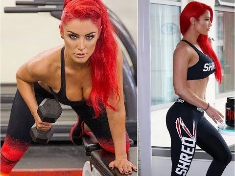 Total Divas Eva Marie: WWE Pro Wrestling Star Gym Workout Routines - YouTube