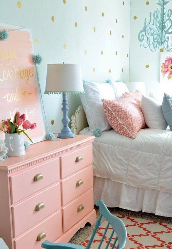 12 Ideas Para Decorar Tu Cuarto Con Colores Pastel Dormitorios Decoracion Dormitorios Decoraciones De Cuartos