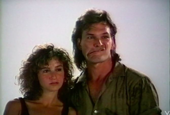"""There's a lot of chemistry, and no """"spaghetti arms,"""" in this rare footage of Patrick Swayze and Jennifer Grey's Dirty Dancing screen test.This Yahoo Movies exclusive clip, taken from a new featurette on the 30th anniversary Dirty Dancing Blu-Ray, shows the two stars getting to know each other as they"""
