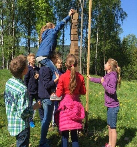 NAKUHEL-Dagen: aktiv læring om folkehelse for barneskole.  #salutogenese #helsefremming.  www.helsefrem.no