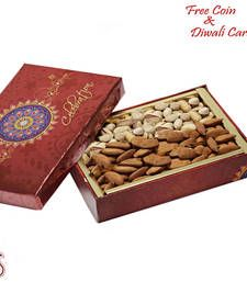 Buy Almonds and Pista Box for Diwali diwali-dry-fruit online