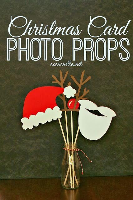 'A Casarella: Photo Props for Christmas Cards