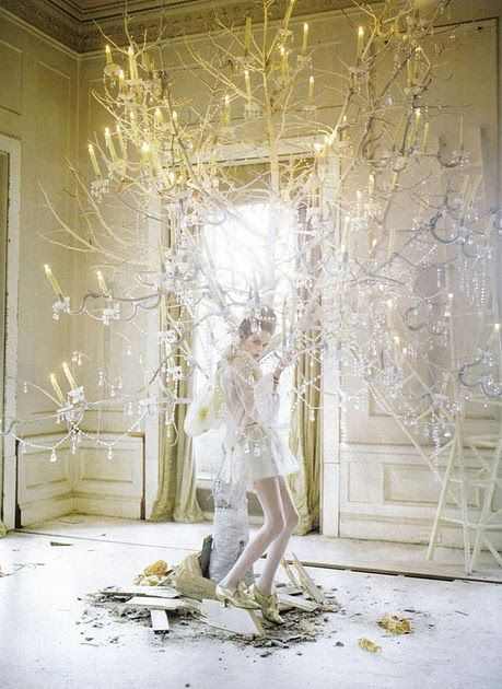Meet Tim Walker, if you haven't already. He is one of my favorite photographers. A lot of these shots are from Vogue which explains their b...