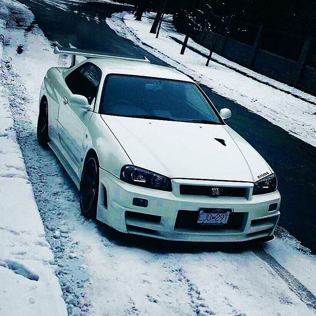 High Quality #Nissan #Skyline #GTR #R34 #Japan #JDM #Tuning #Drift