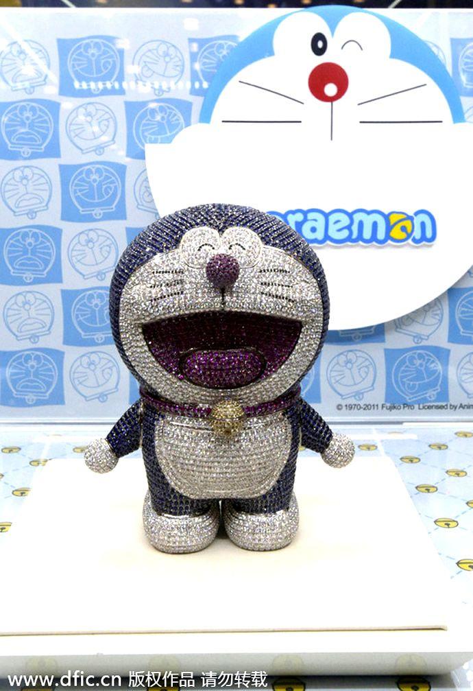 GemStudded Doraemon Could Set You Back 1.28 Million
