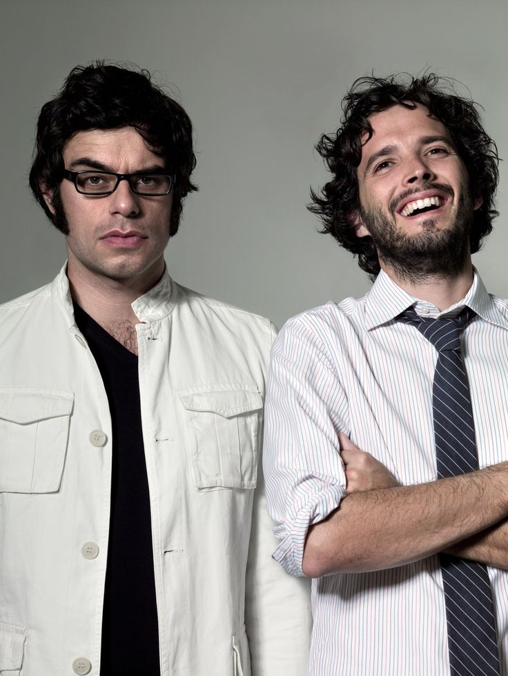 Brett & JemaineFlight, Funny Guys, Bret Mckenzie, Hilarious Videos, Jemaine Clemente, People, Geek Chic, New Zealand, Conchords