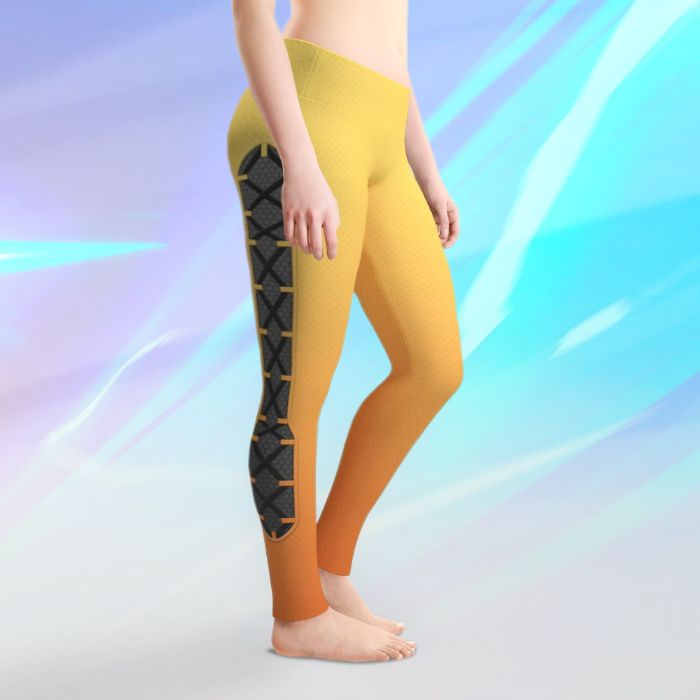 Tracer Cosplay Leggings - Available on Society6 and RedBubble