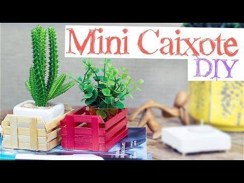 Como fazer nichos com palitos de picolé - DIY - Decoração gastando pouco - YouTube
