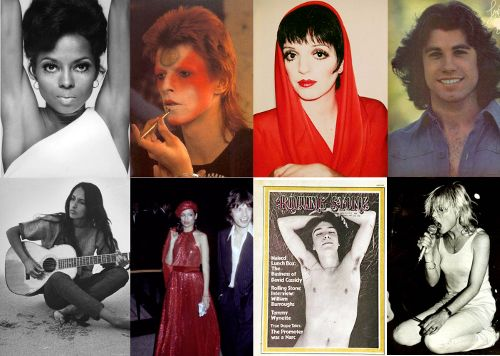 1970s Celebrity Vintage Style Icons Influences On 2011 Fashion Part 1 Inspiration