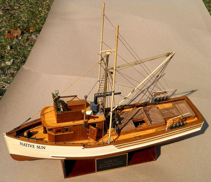 Native Sun 85' trawler — July 2015 - FineScale Modeler ...