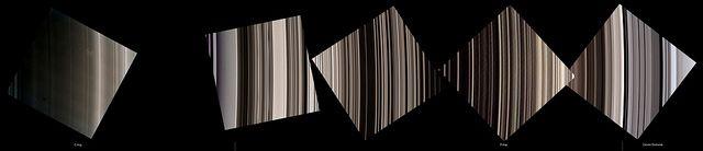 Saturn's rings mosaic - February 05, 2014 - More: http://www.aliveuniverseimages.com/speciale-missioni/missioni-nel-sistema-solare/cassini/692-nasa-cassini-5-e-6-febbraio-un-tuffo-tra-gli-anelli - Credit: NASA/JPL/Space Science Institute - Processing: 2di7 & titanio44
