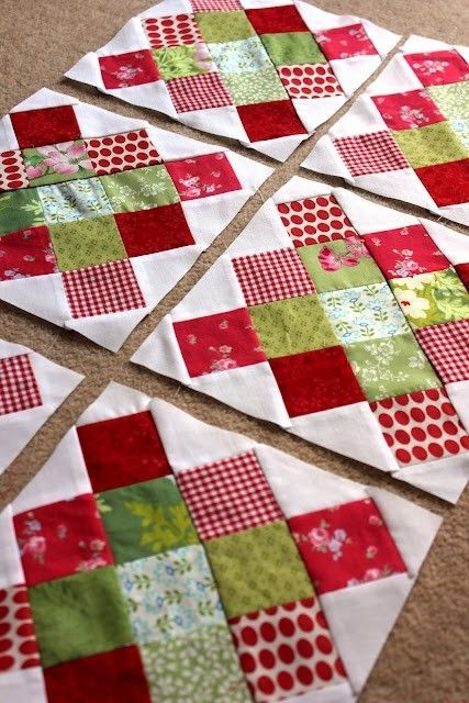 Easy Breezy Christmas Quilt by allyson