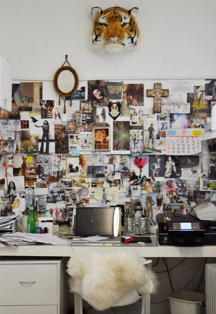 Collage Office: Interior, Inspiration Wall, Idea, Workspace, Inspiration Boards