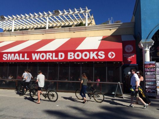 Small World Books Venice Beach California
