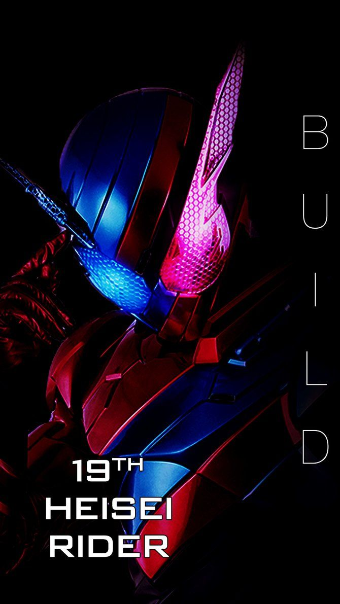 kamen rider build smart phone wallpaper by phonenumber123 hero