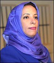 Dr. Madiha Al-Shaibani is the first female minister of the Ministry of Education.
