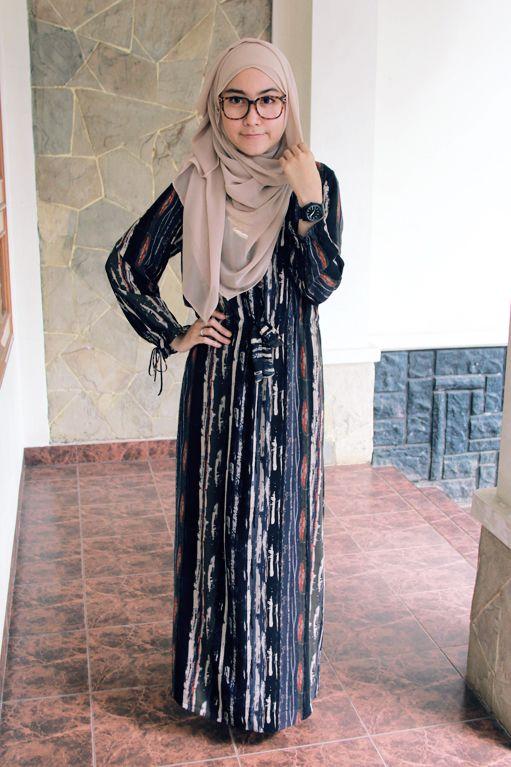 love the maxi dress and #hijab #style #hijabi #fashion