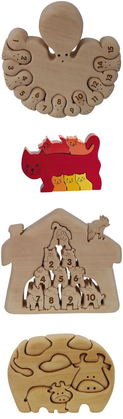 Algunos interesante diseño de juegos de madera.