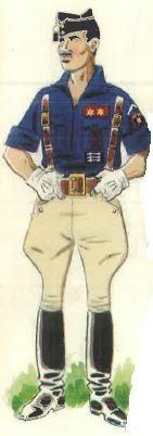 """Spanish civil war """" Jefe de Centuria (Teniente) en uniforme de parada."""" Pin by Paolo Marzioli"""